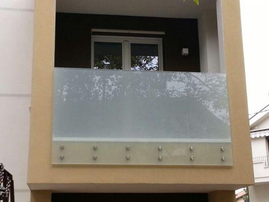 Modello parapetto moderno in vetro e acciaio padova e provincia venezia treviso e vicenza - La finestra padova ...