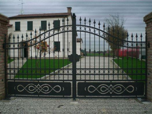 Cancelli ferro in provincia di padova e venezia for Immagini cancelli in ferro